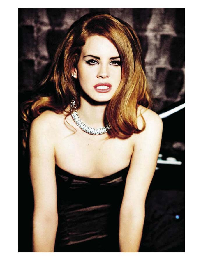 Photo shoot by Ellen von Unwerth for Vogue Italia starring Lana Del Rey; Styling: Cathy Casterin