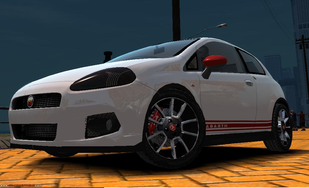 FIAT PUNTO ABARTH 2011 PARA GTA IV