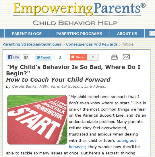 is child behavior better today It is becoming increasingly clear that the ways we are rearing our children today are to young children with challenging behavior their better instincts due.