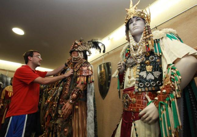 Fiestas de moros y cristianos cocentaina dos escuadras - Cocentaina espana ...