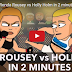 "UFC. La Parodia di Rousey vs Holm. Video ""Fight""."