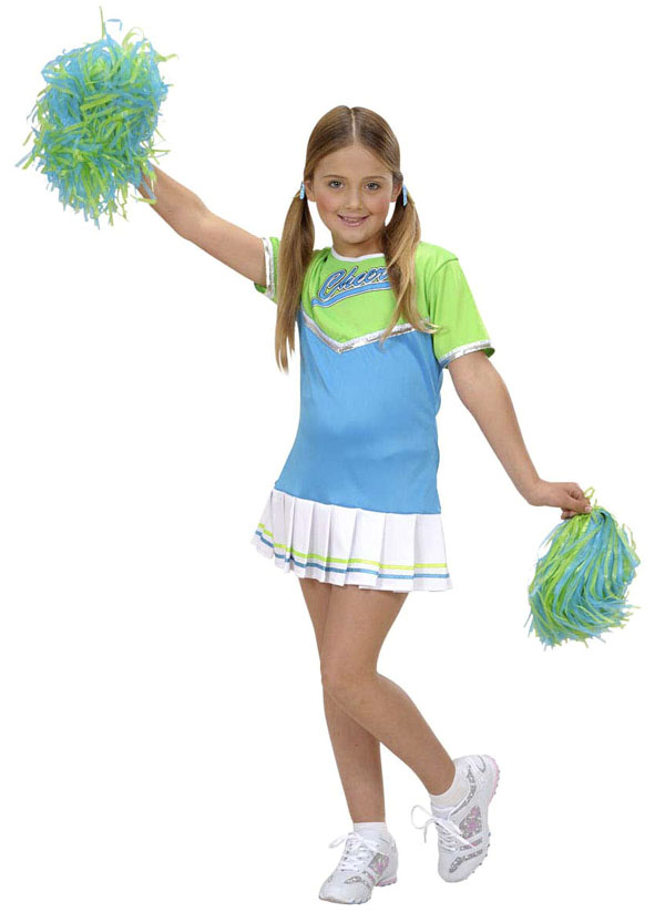 Cheerleader pigekostume