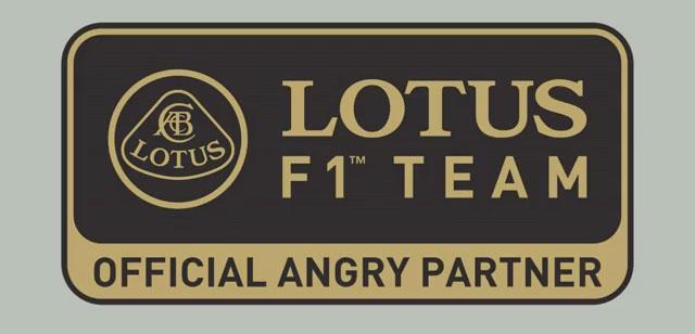 Lotus F1 Angry Birds