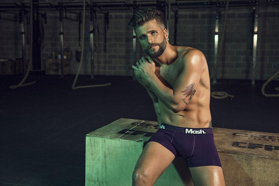 Bruno Gagliasso estrela nova campanha da Mash. Foto: André Nicolau