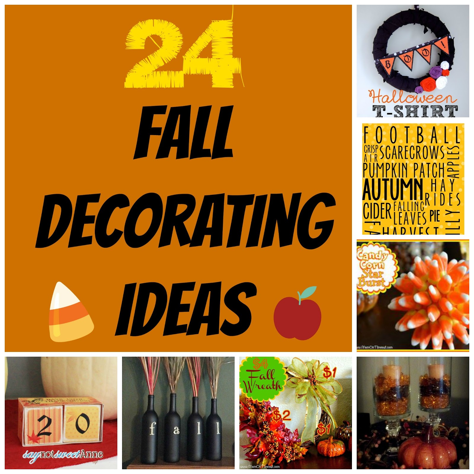 crazylou: All Things Fall! A Round-up of 24 Fall Decorating Ideas!