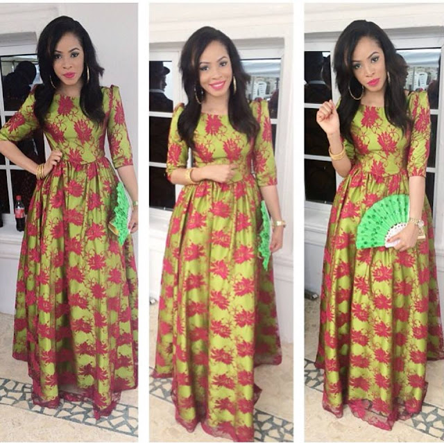Beautiful Ankara Long Gown Design Dezango Fashion Zone
