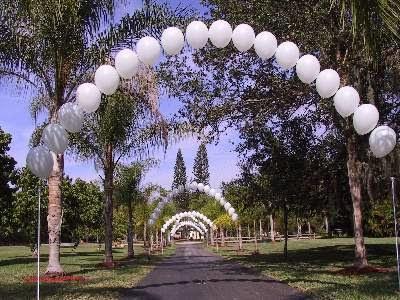 Decoracion de Bodas con Arcos de Globos, parte 4