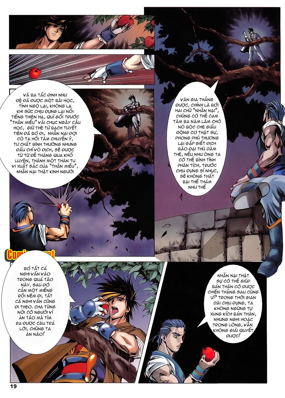 Lục Đạo Thiên Thư chap 14 - Trang 19