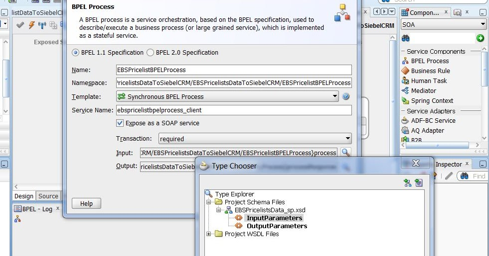 store procedure invocation using bpel process in soa suite