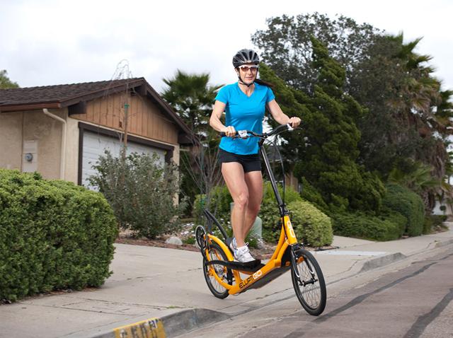 ElliptiGo: a primeira bicicleta elíptica do mundo