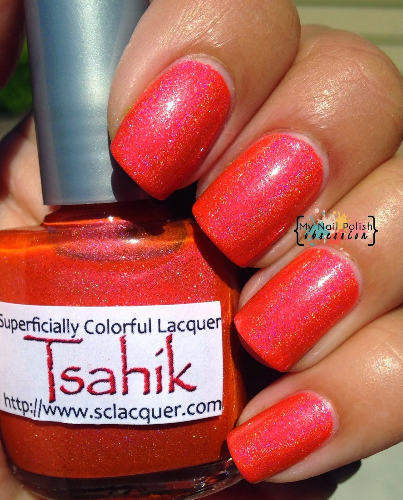 Superficially Colorful Lacquers Tsahik