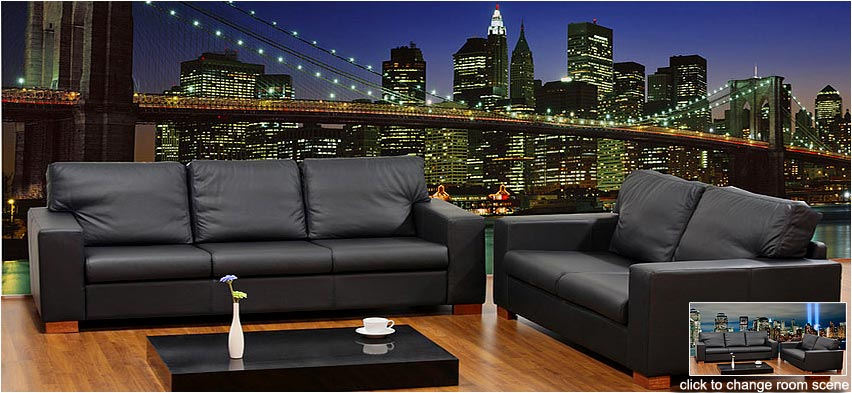 brooklyn bridge wall mural2. Black Bedroom Furniture Sets. Home Design Ideas