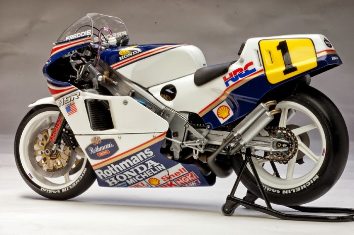 racing scale models honda nsr 500 f spencer 1986 by utage factory house tamiya. Black Bedroom Furniture Sets. Home Design Ideas