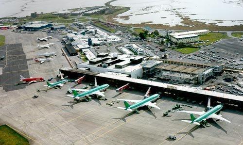 Dublino oro uosto zemelapis