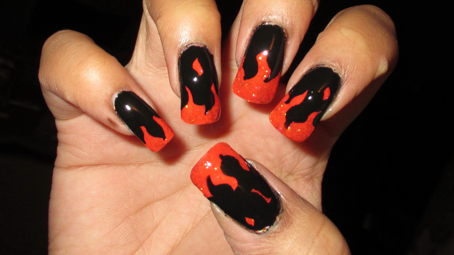 My Simple Little Pleasures: NOTD: Hunger Games Catching Fire - Girl ...