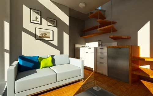 03-Living-and-Kitchen-Area-Canadian-Micro-House-9.2m²-Ian-Lorne-Kent-www-designstack-co