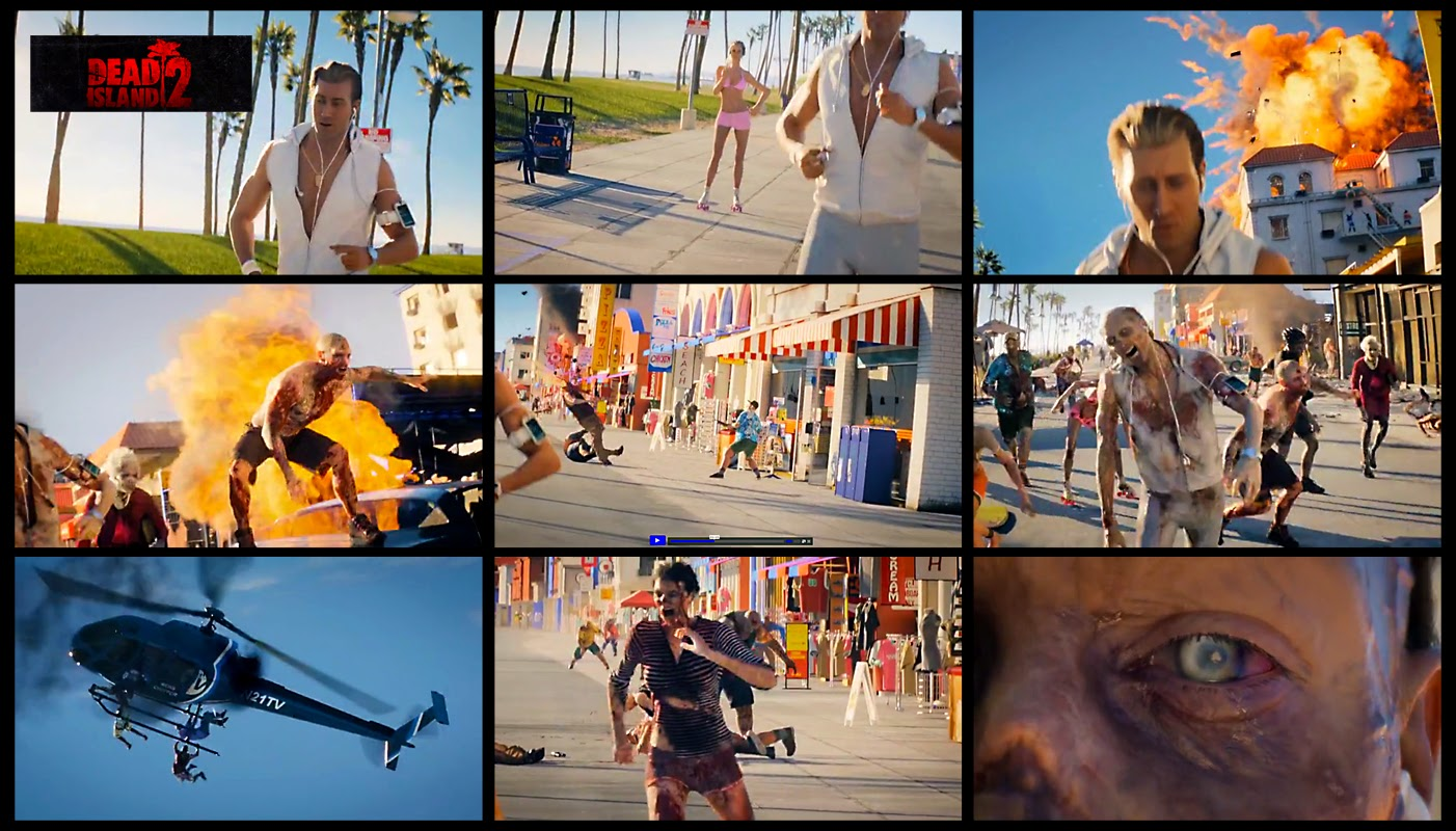 Dead Island 2:  Screen Captures From The Video Below