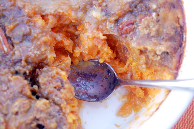 Unilever Spreads: Thanksgiving Dishes Sweet Potatoes Casserole