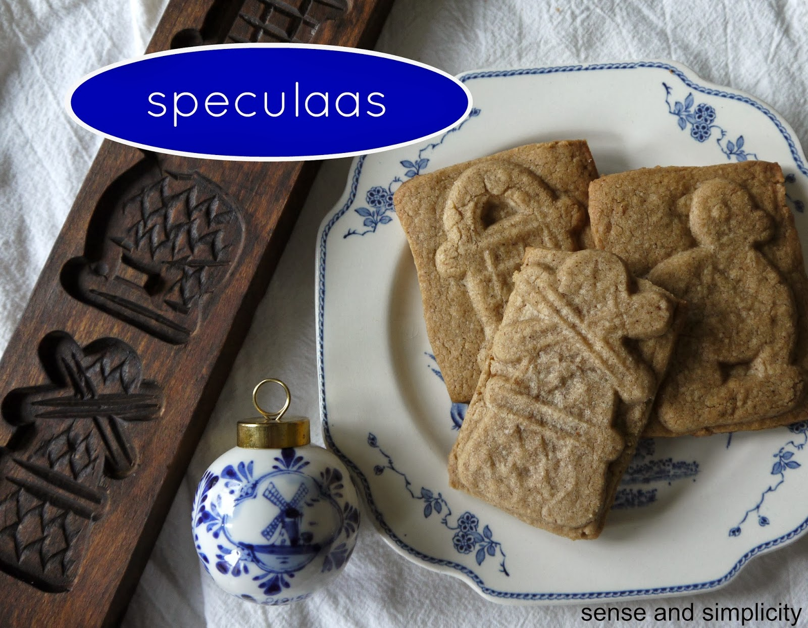 Sense and Simplicity: Christmas Cookie Week - Speculaas