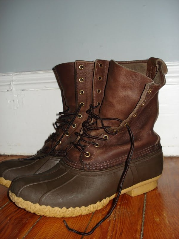 backwoodsplaid l l bean boots