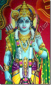 Rama: Vishnu as the noble prince