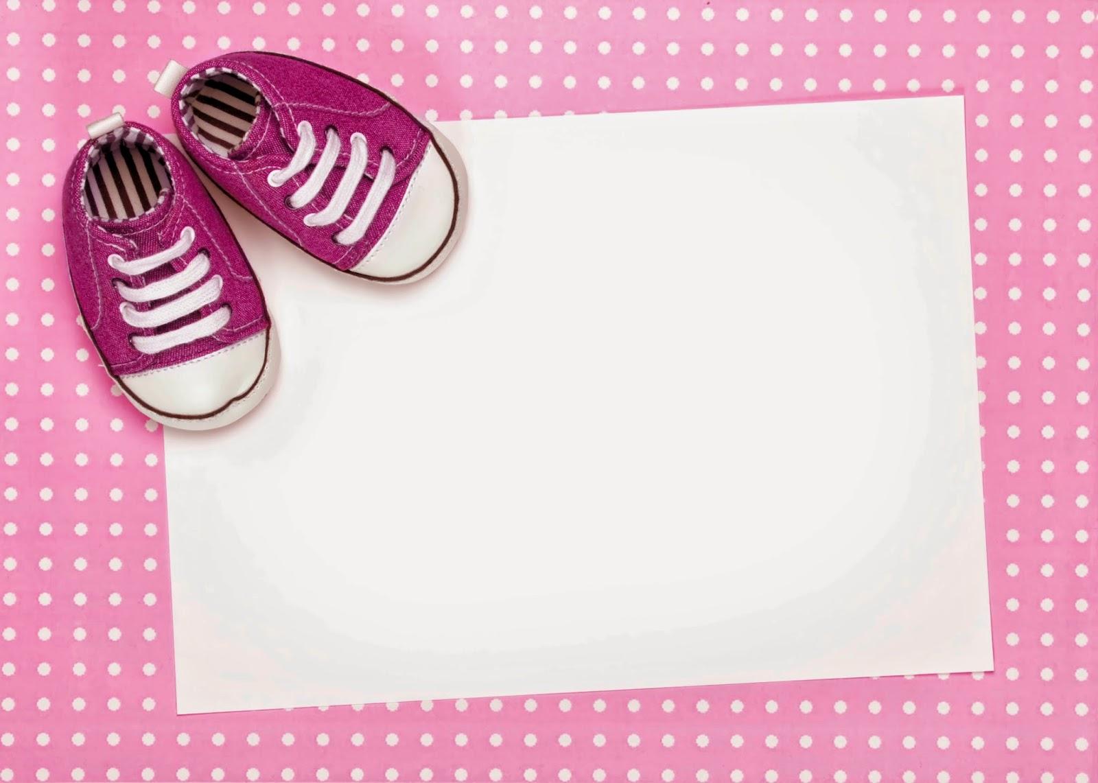 Tarjetas e Invitaciones de Baby Shower para Niñas, parte 3