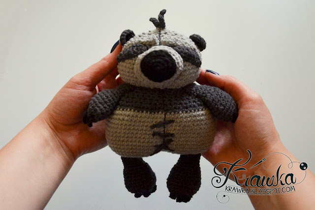 Krawka: Little PO - mascot from Kung Fu panda 2 movie - free crochet pattern by Krawka