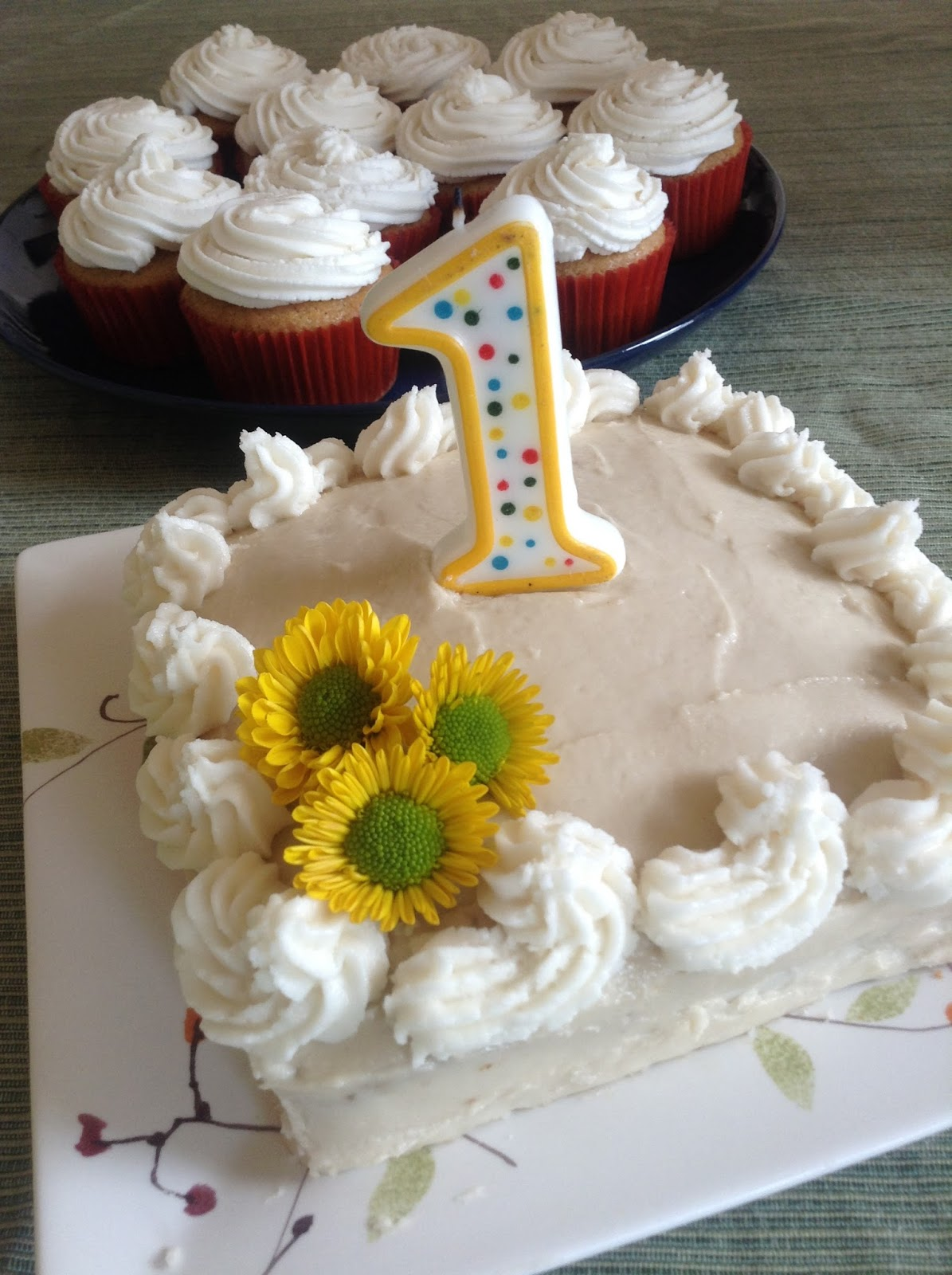 Mamacado Healthy First Birthday Cake Dairyfree Eggfree and