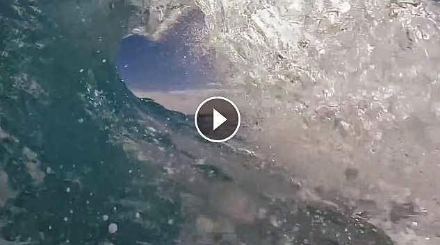 Kelly Slater surfing Fiji