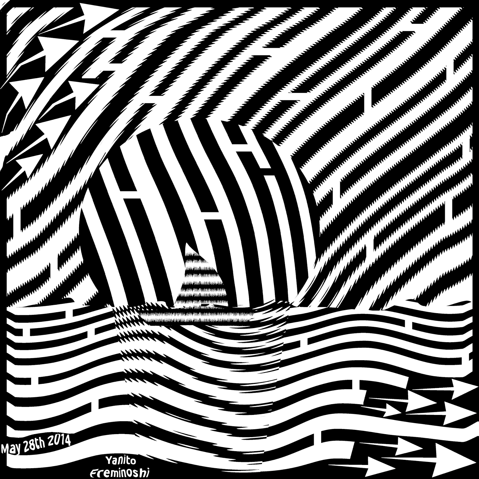 sailing sunset maze