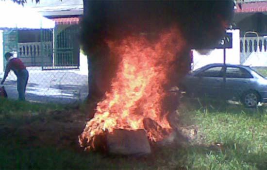 Denda maksimum RM500 ribu atau 5 tahun penjara jika buat pembakaran terbuka