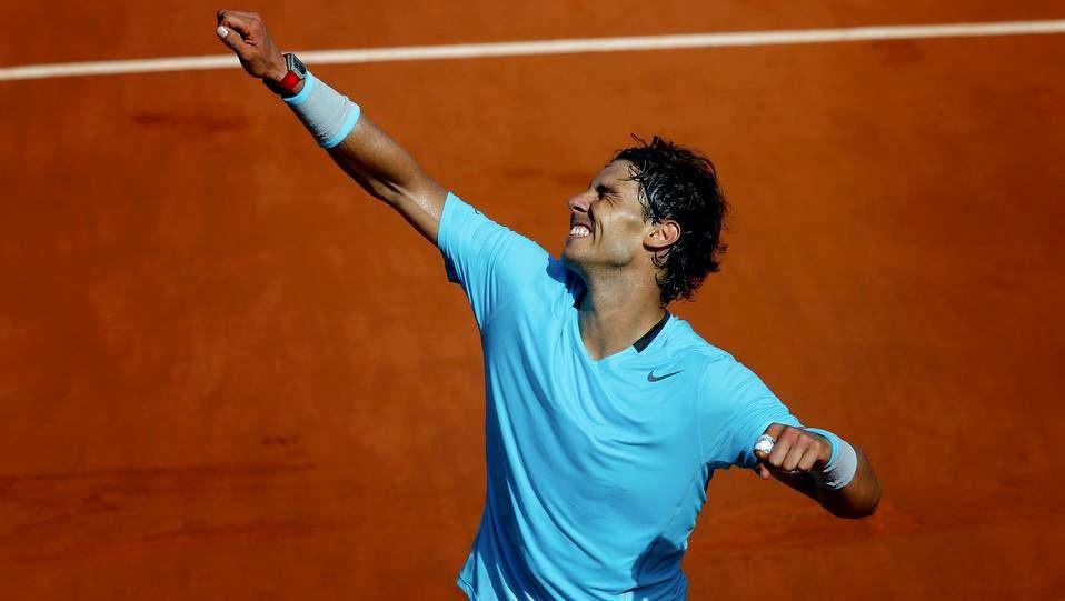 Rafa Nadal derrotó a Djokovic por 3-6, 7-5, 6-2 y 6-4