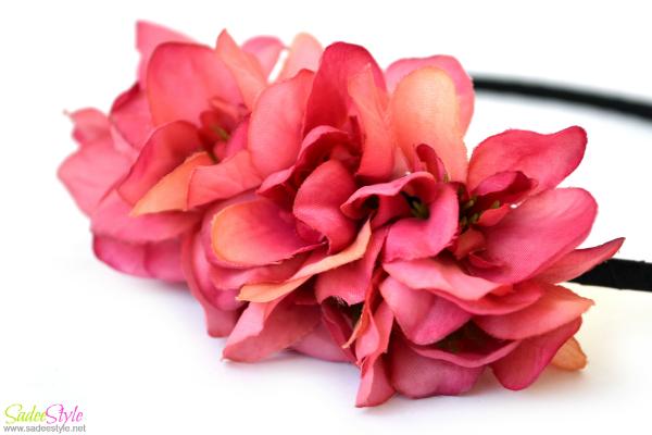 Elegant Orchid Petals Hair Bands Hot Selling