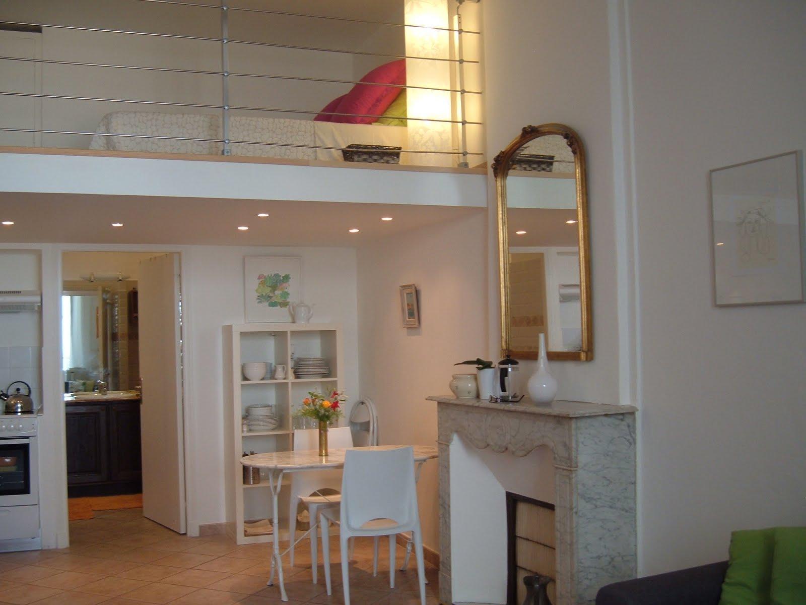 Vivre antibes studio vacances antibes - Construire une mezzanine suspendue ...