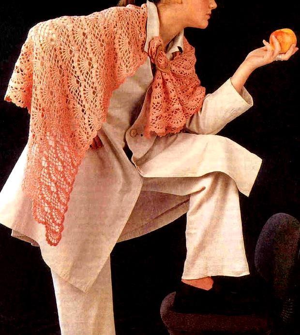 Crochet Pattern Ladies Shawl : Crochet Shawls: Crochet Lace Shawl Pattern - Wonderful ...