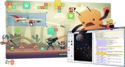 Make HTML5 games with Construct 2 - no programming required
