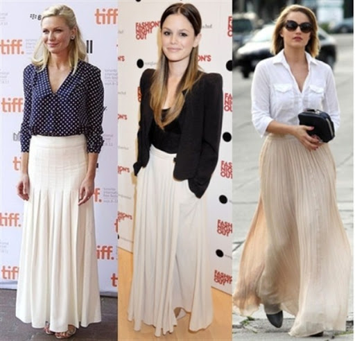 Perfect pleated skirt features and design for trends 2017/2018