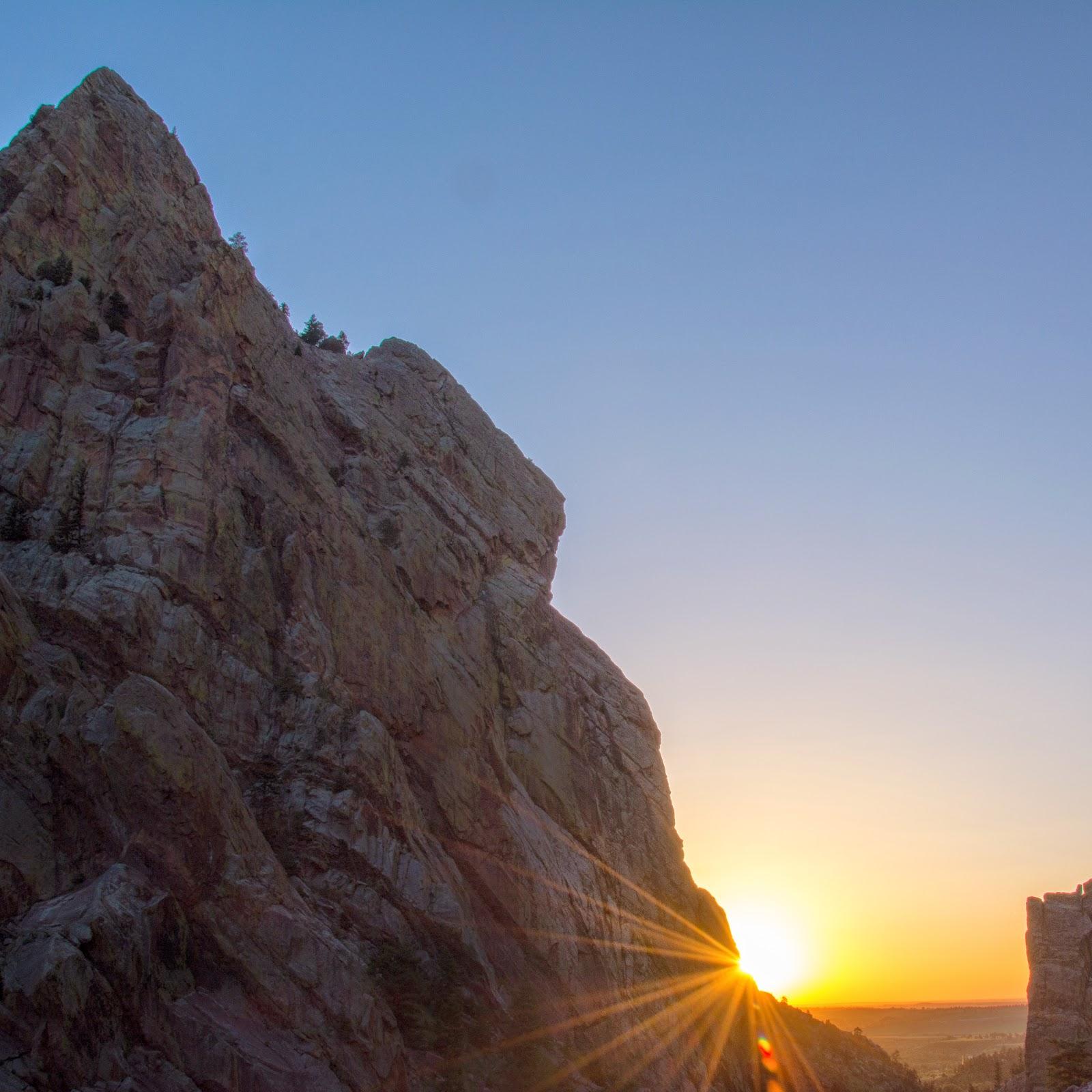 Eldorado Canyon State Park Sunrise