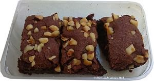 Graze snack box brownie