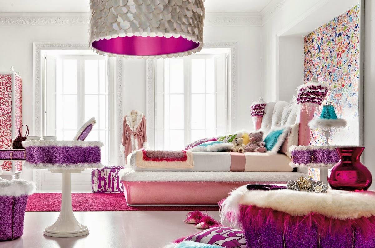 contemporary teen bedroom trendy