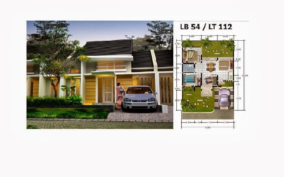 contoh denah rumah minimalis & Denah Rumah Minimalis Type 36 45 54 60 70 80 100 | Home ...