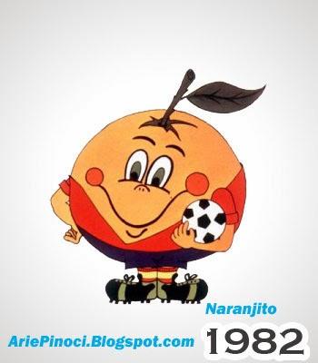 Naranjito Maskot Piala Dunia 1982 Spanyol