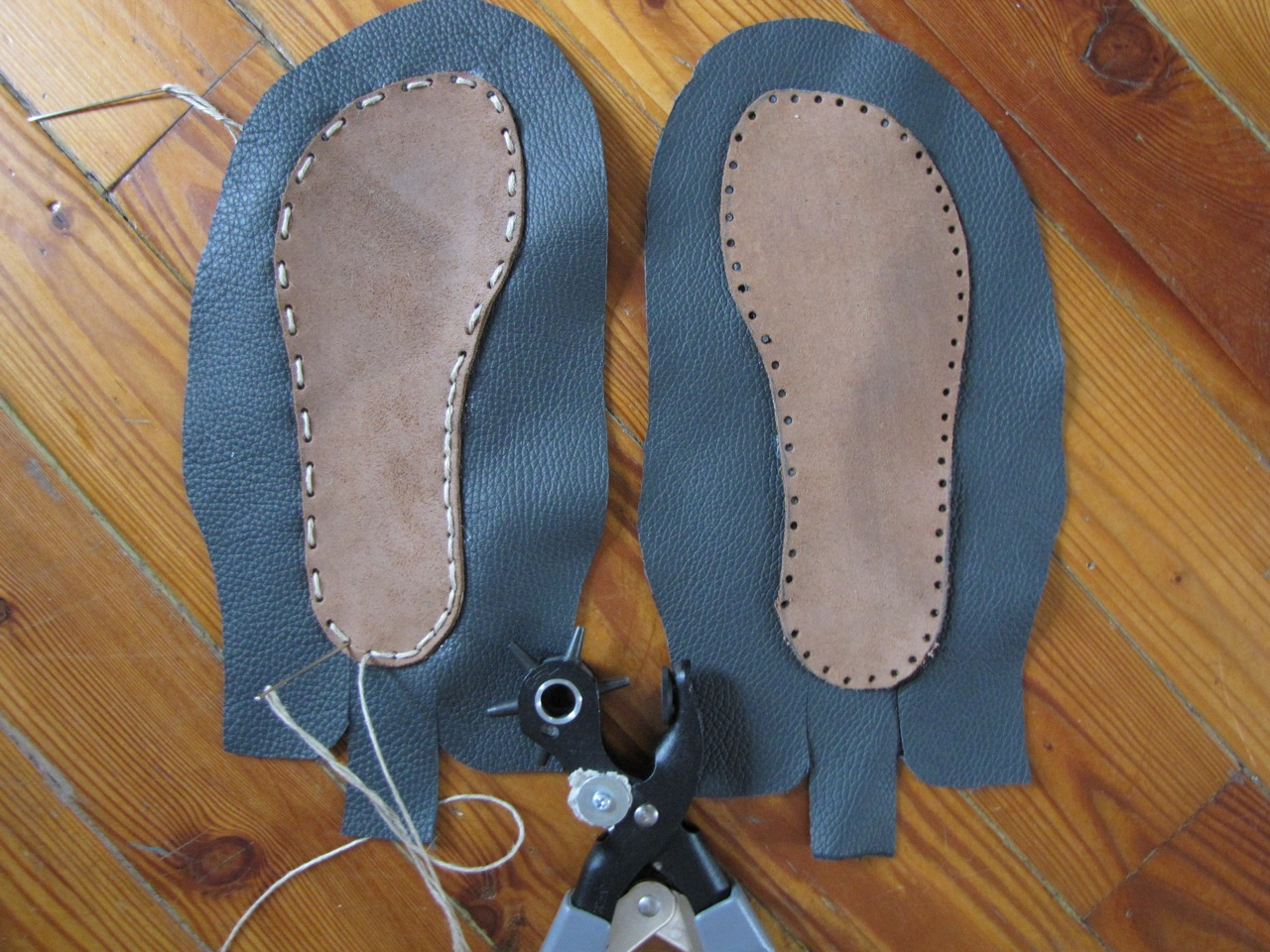 Of Dreams And Seams Making Moccasins With Full How To