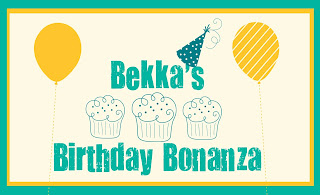 Win a Stampin' Up! Shopping Spree when you order from Bekka during August 2013