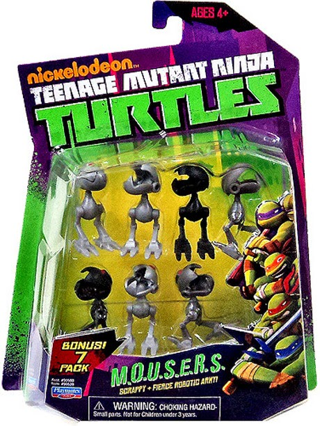 JUGUETES - LAS TORTUGAS NINJA  MOUSERS | Figuras - Muñecos Teenage Mutant Ninja Turtles | TMNT | Nickelodeon  Producto Oficial | Playmates | A partir de 4 años