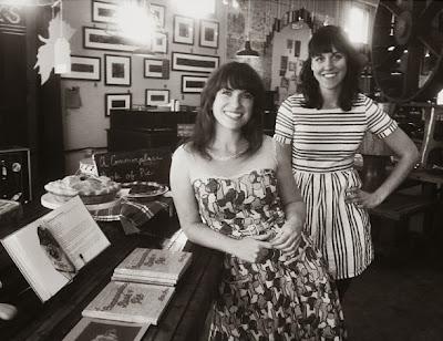 Kate Lebo and Emily Hilliard at Trohv, Washington, D.C.