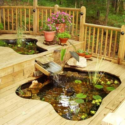 Home Interior Decorating in Style 5 Small Ponds in Backyard