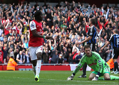 Arsenal 3 - 1 Stoke City (2)