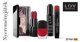 Szeretnél nyerni egy L.O.V. Cosmetics Luxus ajándékszettet?