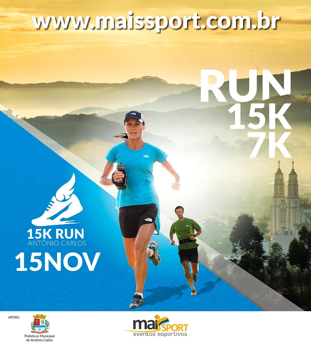 15/11/18 - 15K Run Antônio Carlos